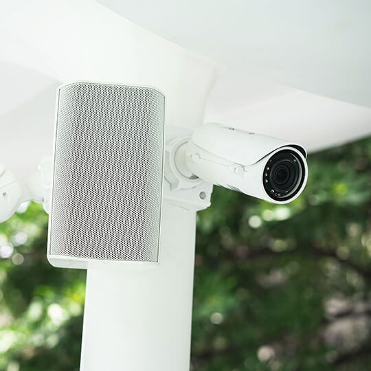 PA System installation image